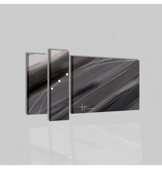 GRAFIS - Quadro astratto grigio