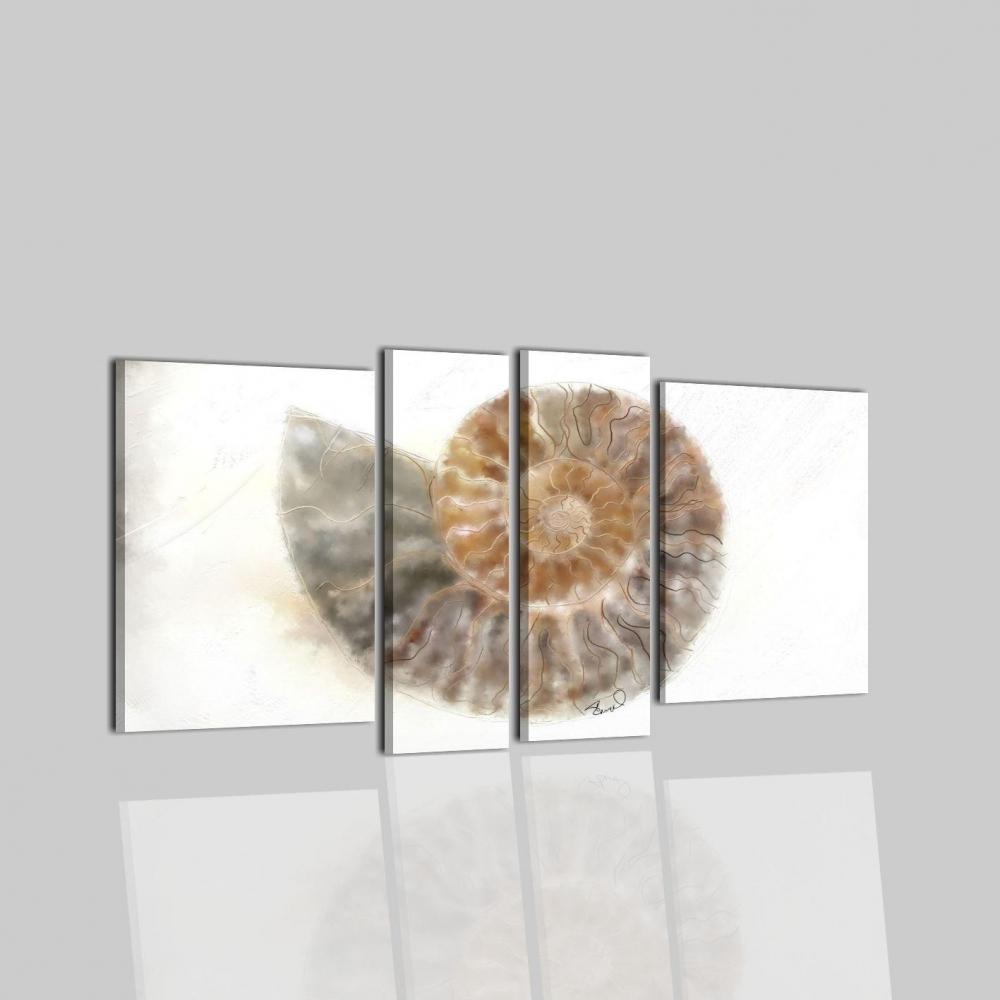 Quadro Moderno Dipinto A Mano Con Tecnica Acrilco Su Tela Fossil