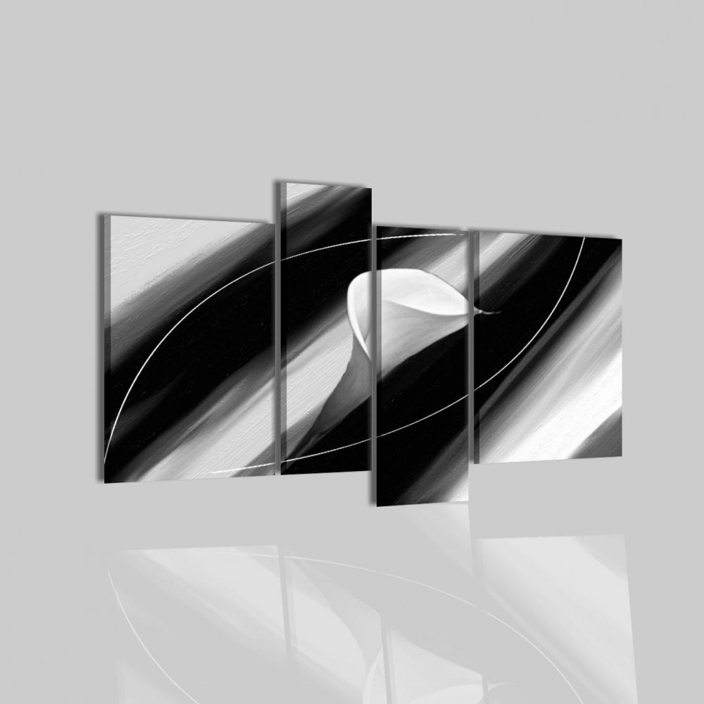 Quadri astratti in nero e bianco gerda for Quadri in bianco e nero moderni
