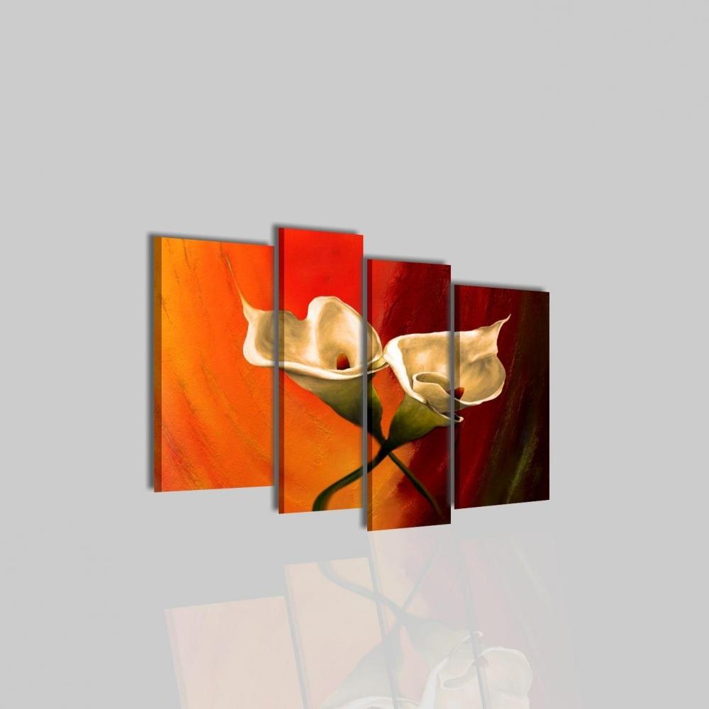 Quadri moderni con fiori amata for Quadri moderni su tela