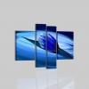 TERIKA - Quadri moderni con fiore blu