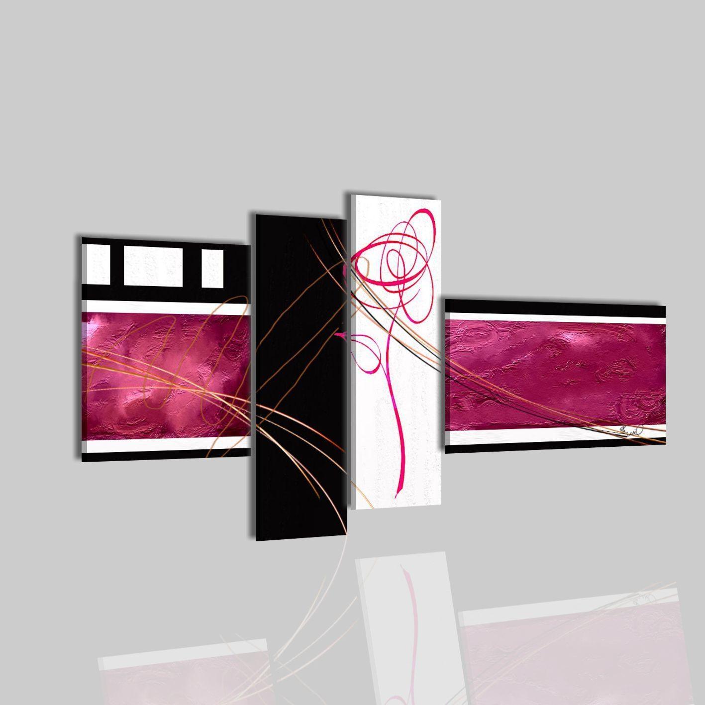 Camera da disegno letto minimal for Dipinti moderni bianco e nero