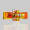 LUCREZIA - Dipinti moderni arancione