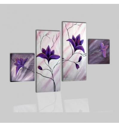 MARGOT - cuadros modernos con flores