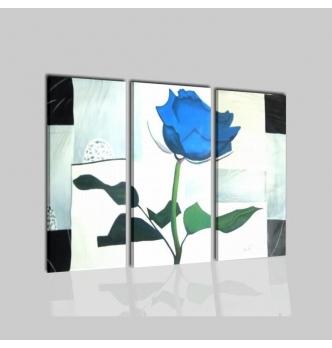ROSA BLU - Quadri con fiore