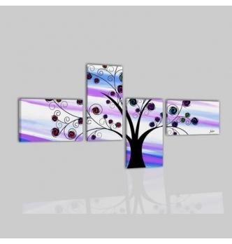 Hagos - Cuadros modernos arbol estilizado