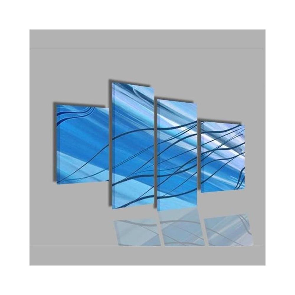 Quadri astratti per arredamento azzurro anita for Quadri moderni per arredamento