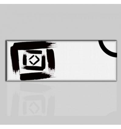 Skipy - Cuadros abstractos blanco y negro