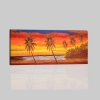 PLAYA 5 - Dipinto paesaggio con tramonto