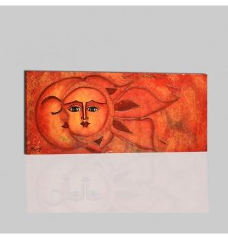 SOLE LUNA 4 - Cuadros sol y luna