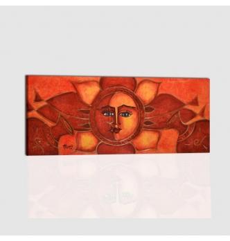 SOLE LUNA 5 - Cuadro sol y luna