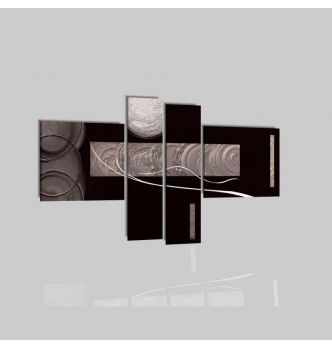 LAZAR - Quadri moderni nero