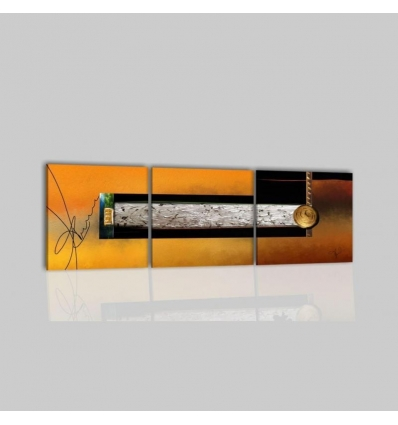 MAYSON - Quadri moderni arancione