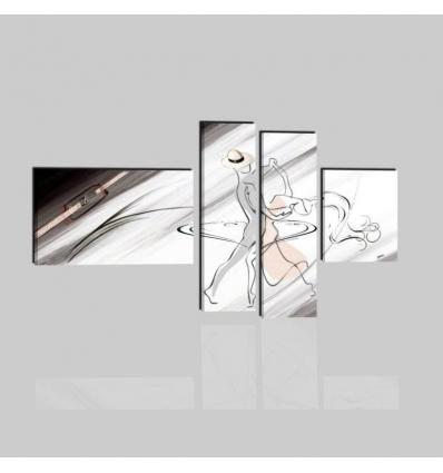 SALSA - quadri moderni ballo