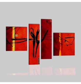 HARMONY - Dipinti moderni con ballerini