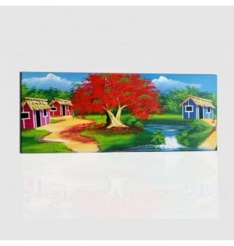 CINOLA - Dipinto paesaggio