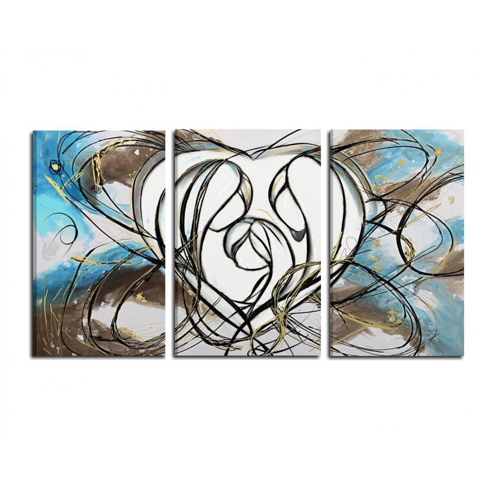 Pintura moderna religiosa - Cuadros cabecera cama ...