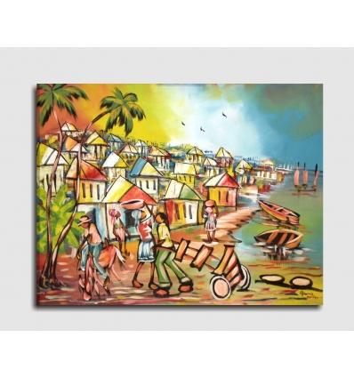 LINDO - Quadro etnico caraibico