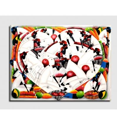 MORGAN - Modern painting heart
