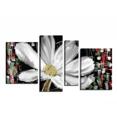 Quadri moderni con fiori - Aitana