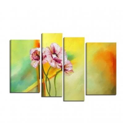 Quadri moderni con fiori - AMINA
