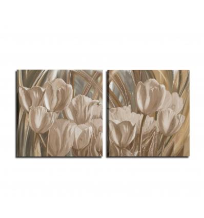 Quadri moderni con fiori - MENEDY