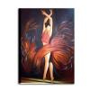 A SCUOLA DI DANZA 2 - Quadro con ballerina