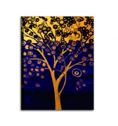 DELEY - Dipinto moderno albero