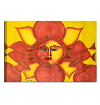 SOLE LUNA 3 - Quadro etnico caraibico