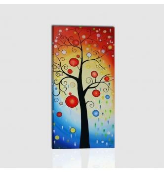 RULIA - Quadro astratto con albero