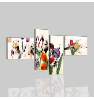 COBAY - Quadri moderni con fiori