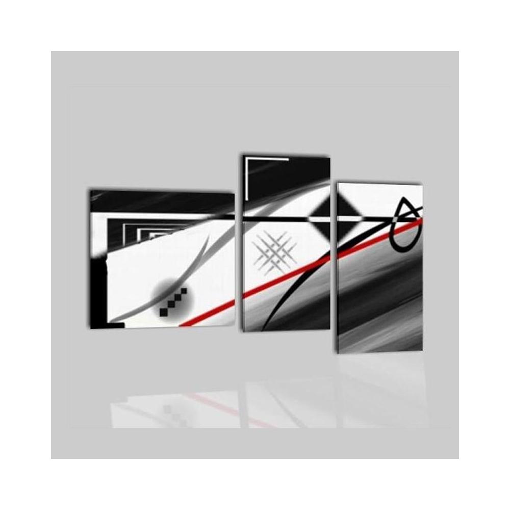Cuadros abstractos en blanco y negro navis - Cuadros modernos blanco y negro ...