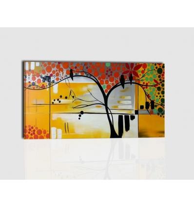 VERONICA - Modern painting tree