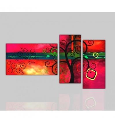 CABANA - Modern painting abstract