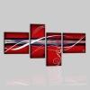 PIPER - Cuadros abstractos rojo