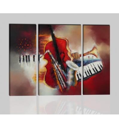 I COLORI DELLA MUSICA - Quadri moderni