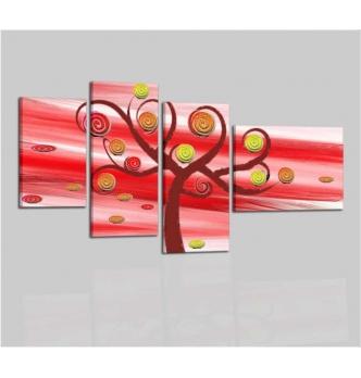 ADELE - Cuadros abstractos con arbol