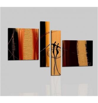 pinturas abstractas con los bailarines - Ethan