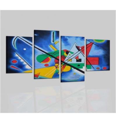 KANDINSKY DIPINTO BLU - cuadros abstractos