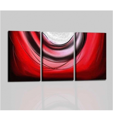 DEMID - Modern painting red