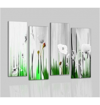 EUSEBIA - Modern painting flowers