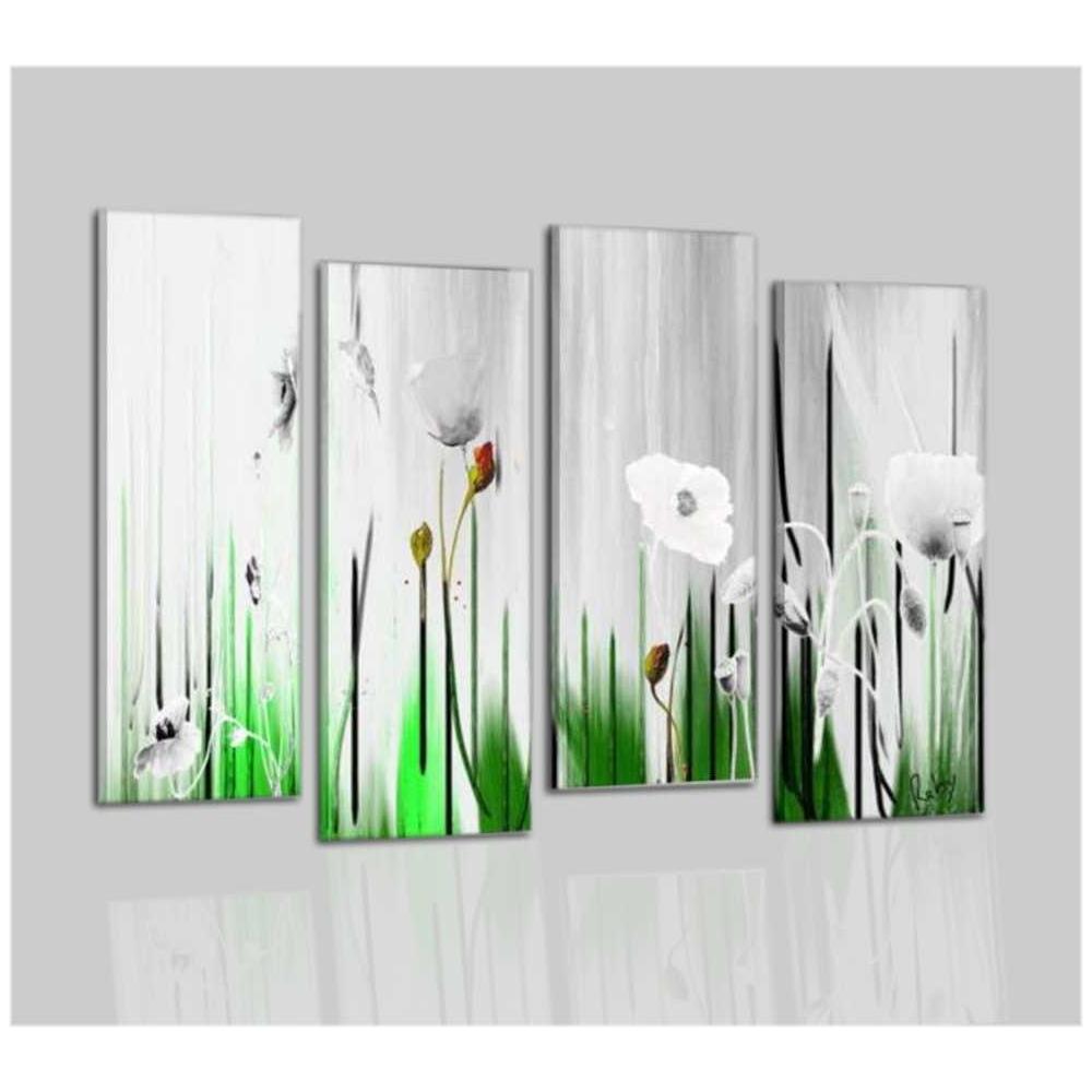 Quadri moderni dipinti a mano con fiore - Eusebia