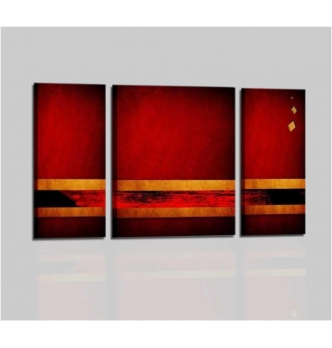 PINTY - Modern painting triptych