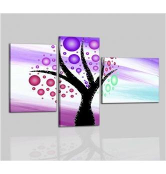 HINOBEL - Cuadros modernos Purpura