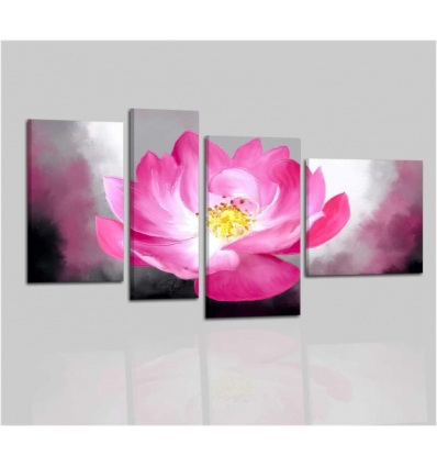 MINDEL - Modern painting pink