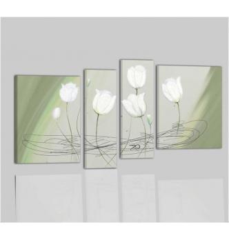 Cuadros modernos con flores - VANESSA