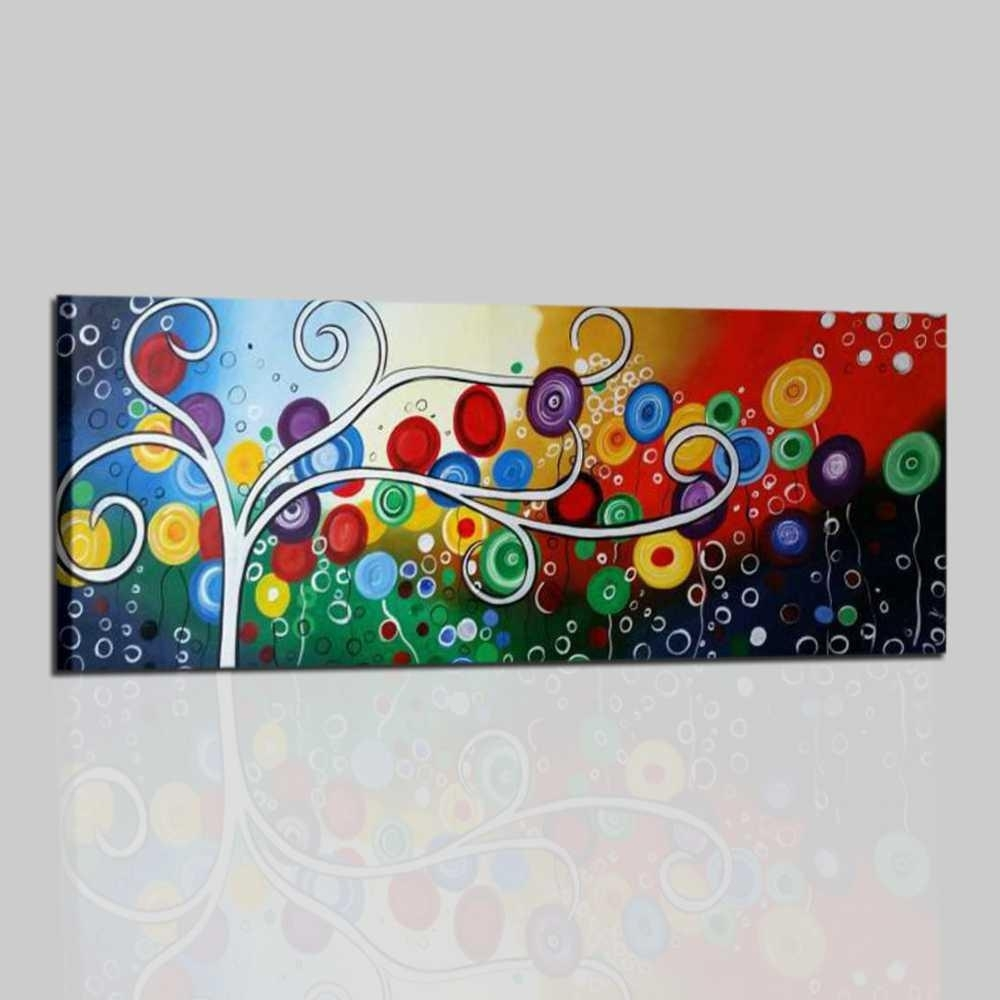 Quadri moderni con albero stilizzato, colorato e decorativo. Ordina ...