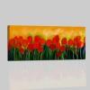 Quadro moderno dipinto a mano con fiori - TULIPANI