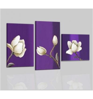 LOGOS - Cuadros abstractos con flores