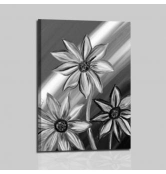 ADELMA 3 - Quadri moderni astratti con fiore